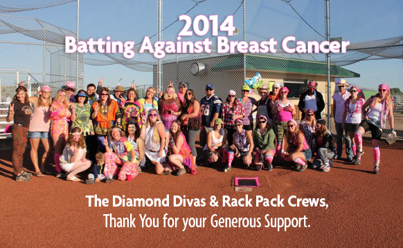 The Rack Pack & Diamond Divas ThankYou!